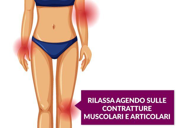 rilassa muscoli e articolazioni